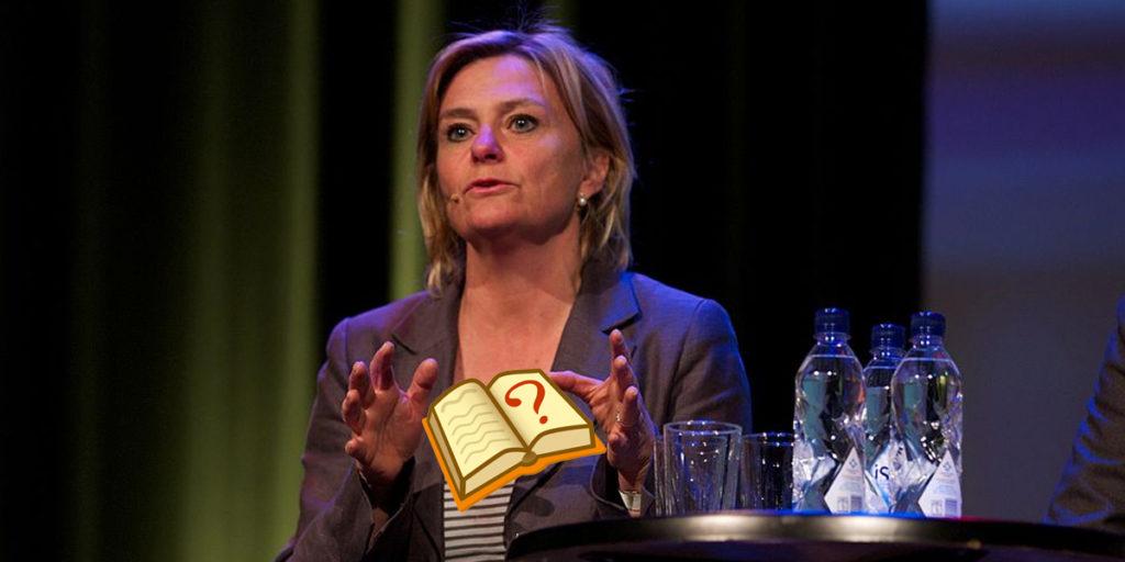 En av många framgångsrika svenskar som ung, Eva Hamilton började som skolskribent.