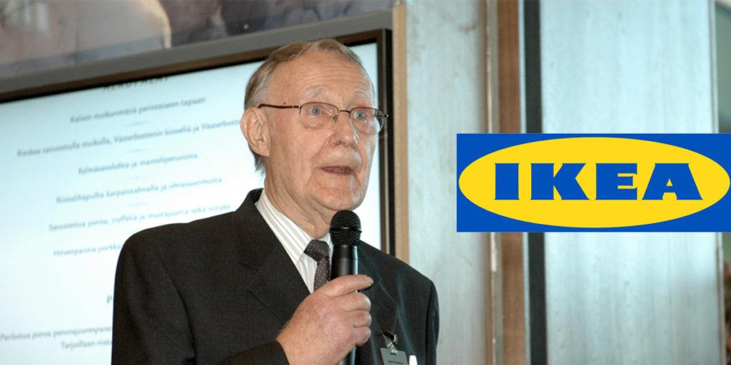 Ingvar Kamprad grundare av IKEA började som gårdsförsäljare. Ett exempel på en framgångsrik svensk som ung