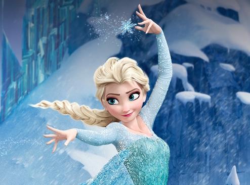 Elsa i Frost - barnfilmer