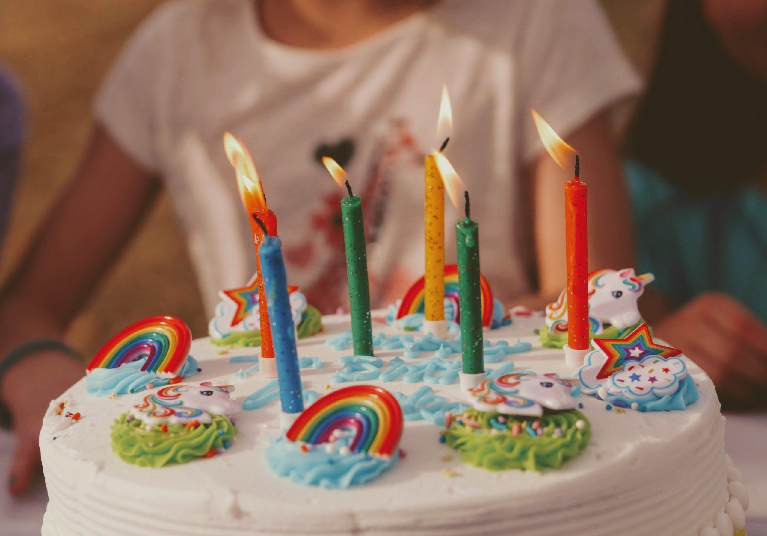 Födelsedagstårta barnkalas
