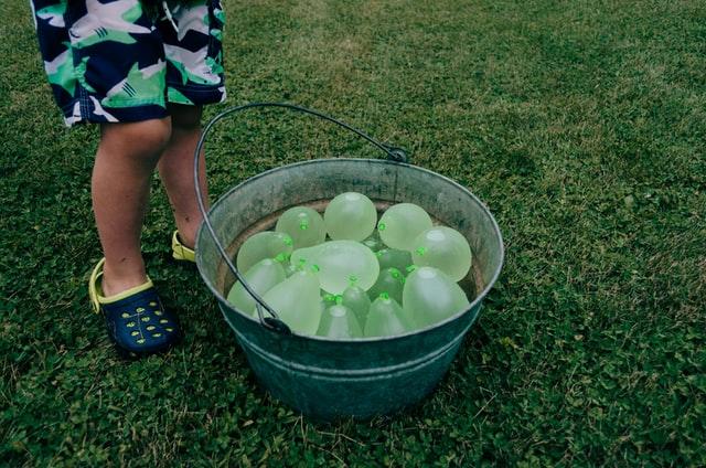 5-kampslekar - ballonger