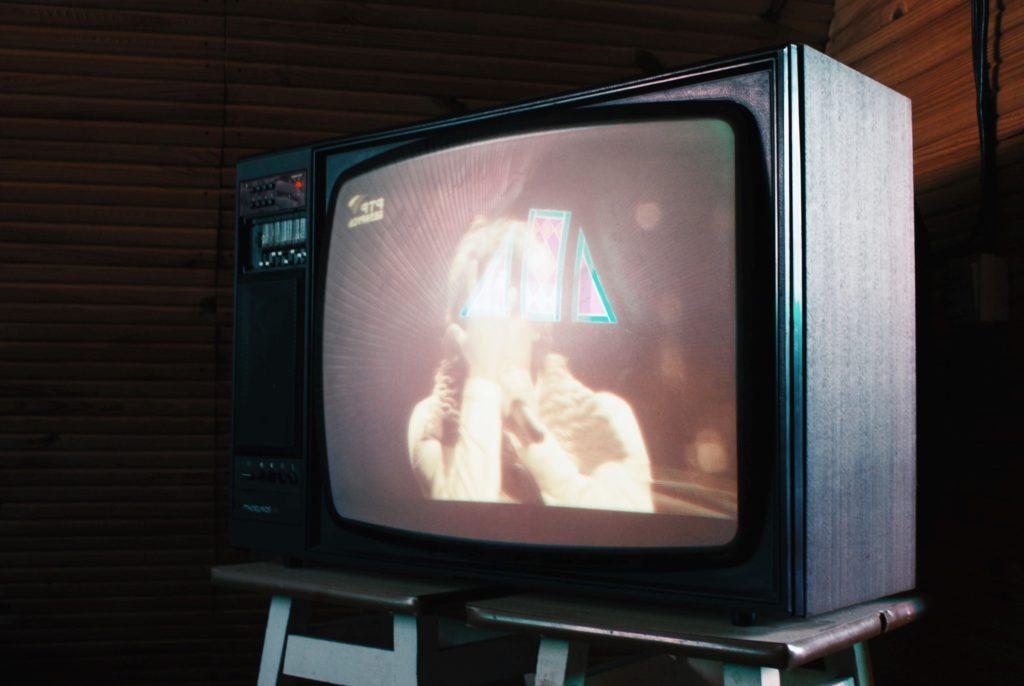 En väldigt gammal TV
