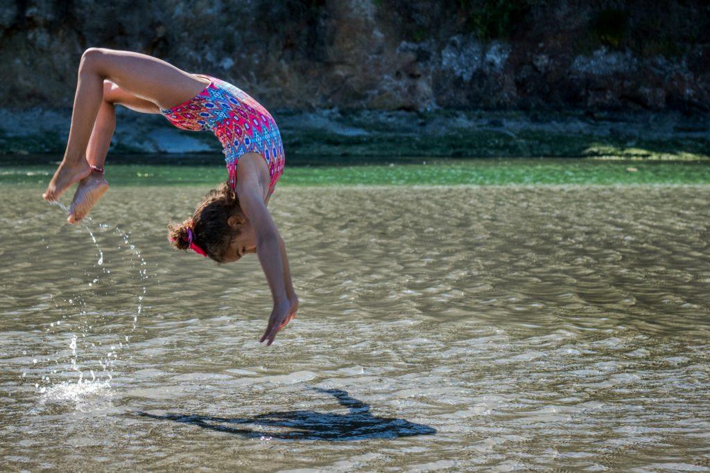 Gymnastik för barn är viktigt för barnens hälsa