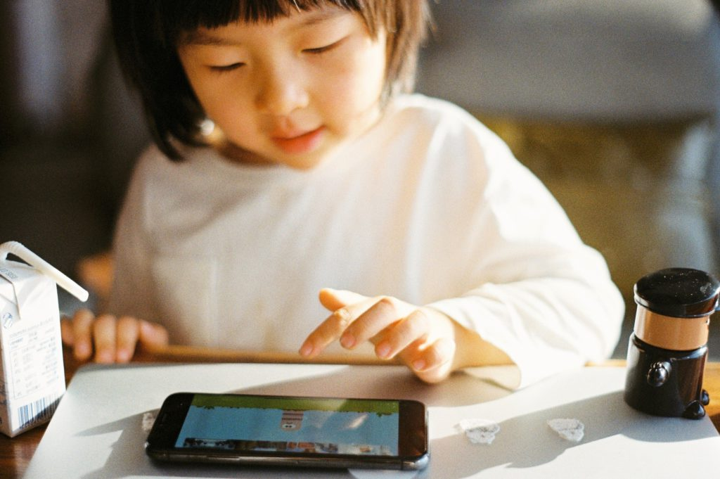 mobile games are great for developing the cognitive ability in children
