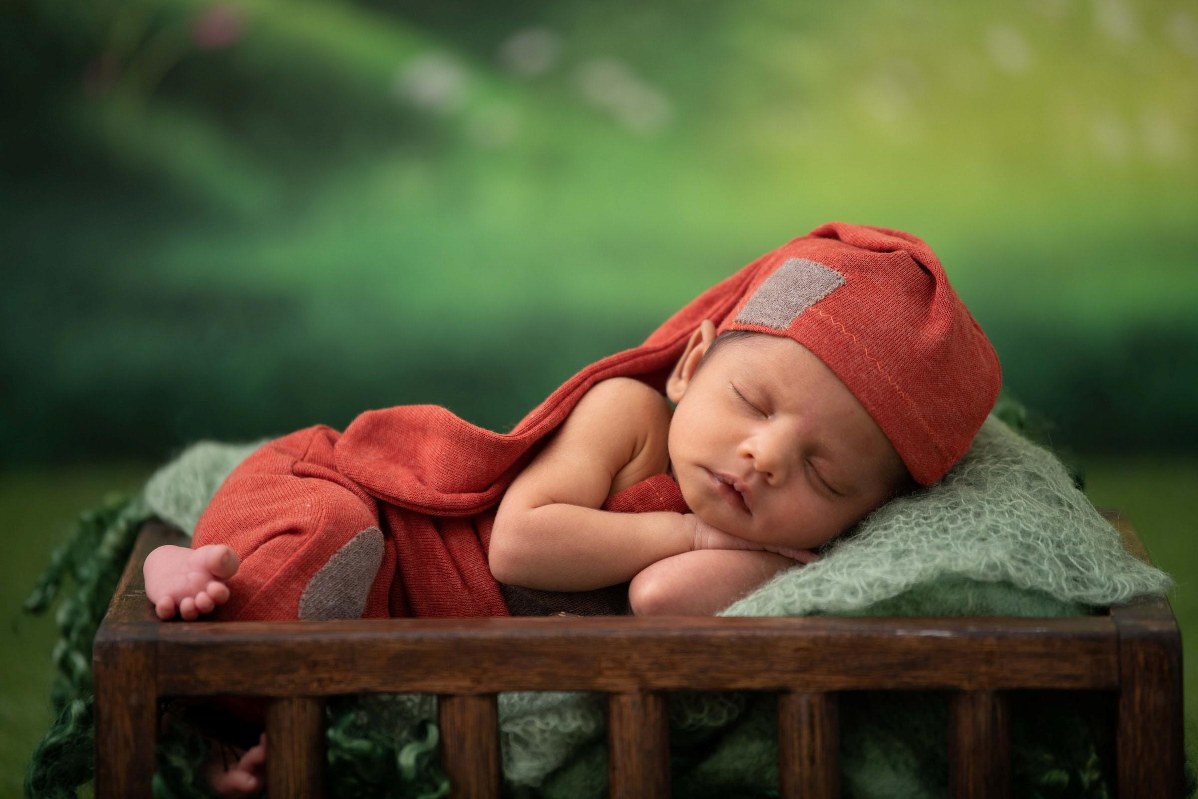 Barn som vänjer sig vid ett sömnschema