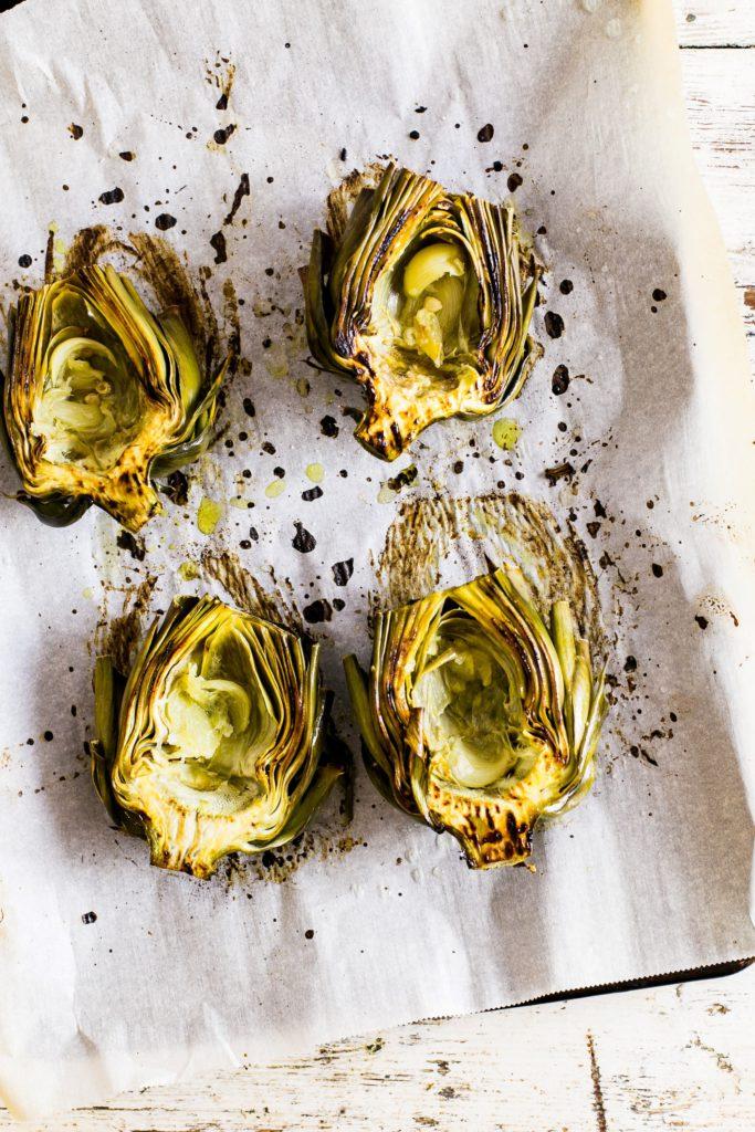 det bästa med att odla kronärtskockor är att äta dem!