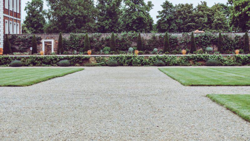 En rabattkant används i de flesta trädgårdar