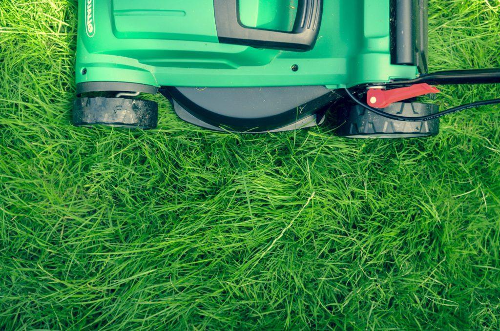 En rabattkant är essentiell för att skydda odlingen från en robotgräsklippare