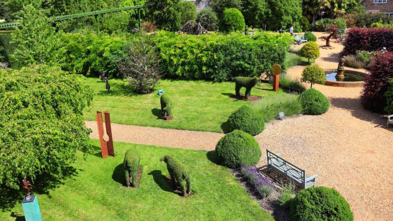 Feng shui handlar egentligen om en livsfilosofi, men det leder till väldigt vackra trädgårdar